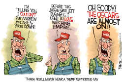 Trump Supporters by Rick McKee