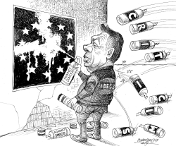 Hungary Orban and the EU by Petar Pismestrovic