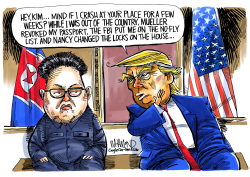 Trump and JungUn Summit extended by Dave Whamond
