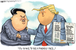 Trump Kim Jong Un Summit by Rick McKee