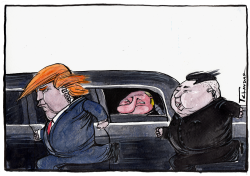 Trump Kim Summit by Tchavdar Nikolov