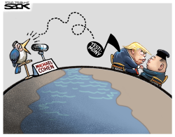 Cohen sings by Steve Sack