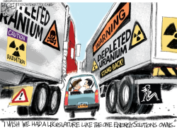 LOCAL Depleted Uranium by Pat Bagley