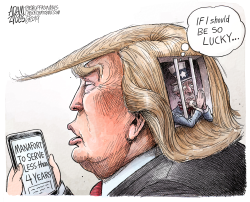 Reduced sentence by Adam Zyglis