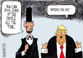 Honest Abe by Bill Schorr