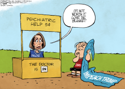 Pelosi and Impeachment by Nate Beeler