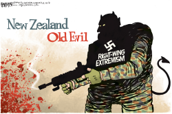 New Zealand shooting by Rick McKee