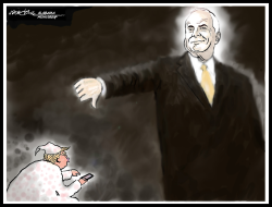 Ghost of John McCain by J.D. Crowe