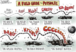 Potholes by Joe Heller