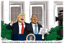 Trump Enlists OJ Simpson To Find The Real Colluders by RJ Matson