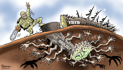 Defeated ISIS by Paresh Nath