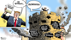Trump and Mueller report by Paresh Nath