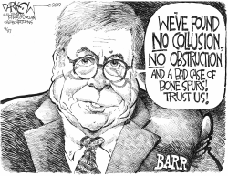 The Barr Report by John Darkow