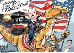 Dino Mike Lee by Pat Bagley