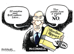 McConnell Blocks Release of Mueller Report by Jimmy Margulies