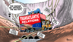 Transatlantic relations by Paresh Nath