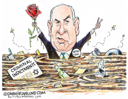 Netanyahu wins 5th term by Dave Granlund