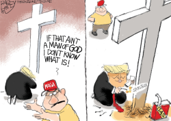 Cross Purposes by Pat Bagley