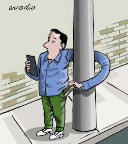 Auto robo by Arcadio Esquivel