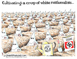 Crop of white nationalists by Dave Granlund