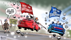 European Parliament polls by Paresh Nath