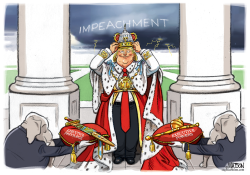 Trump Crowns Himself King by RJ Matson
