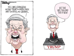 Lindsey Graham by Bill Day