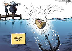 Immigration Anchor by Nate Beeler