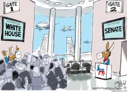Donkey Air by Pat Bagley