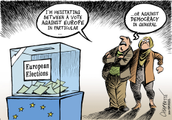 On the eve of European elections by Patrick Chappatte