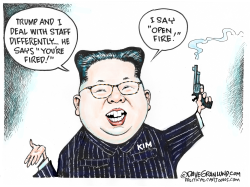 Kim and executions by Dave Granlund