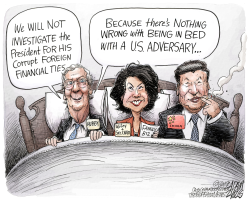 McConnell family ties by Adam Zyglis