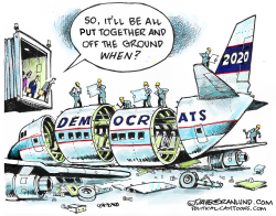 Dems 2020 maintenance by Dave Granlund