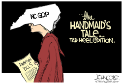 LOCAL NC Tar Heel Handmaid's Tale by John Cole