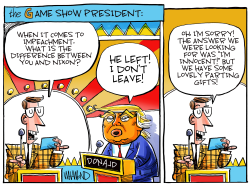 The Game Show President by Dave Whamond