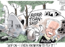 Bipartisan Biden by Pat Bagley