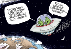 UFOs by Joe Heller