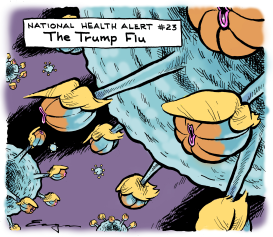 The Trump Flu by Tim Eagan