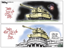 Tanks on the 4th by Bill Day
