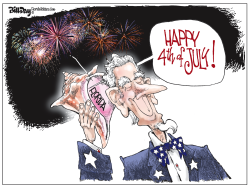 Florida 4th of July by Bill Day
