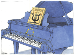 EU Solidarity Piano by Michael Kountouris