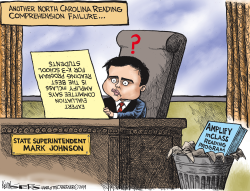LOCAL NC Superintendent's Reading Program Mess by Kevin Siers