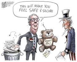 Election security by Adam Zyglis