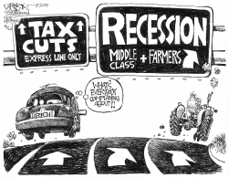What recession by John Darkow