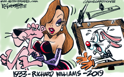 Richard WilliamsRIP by Milt Priggee