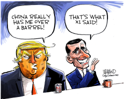Trade Wars Are Easy To Win by Dave Whamond