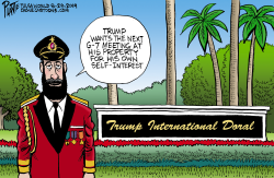 Trump and Captain Obvious by Bruce Plante