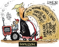 Trumpbrand fertilizer by John Cole