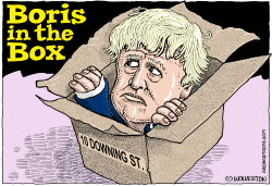 Boris in the Box by Wolverton