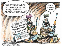 Taliban Camp David invite nixed by Dave Granlund